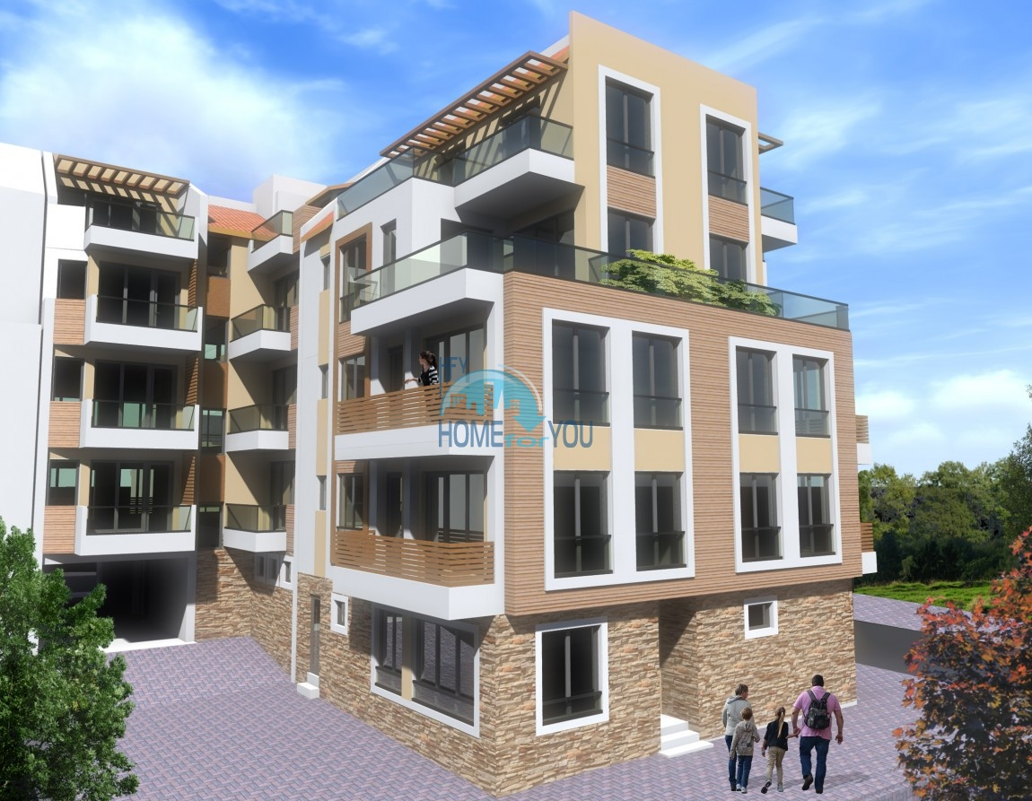 Современный жилой комплекс в новом престижном квартале Сарафово, город Бургас 3
