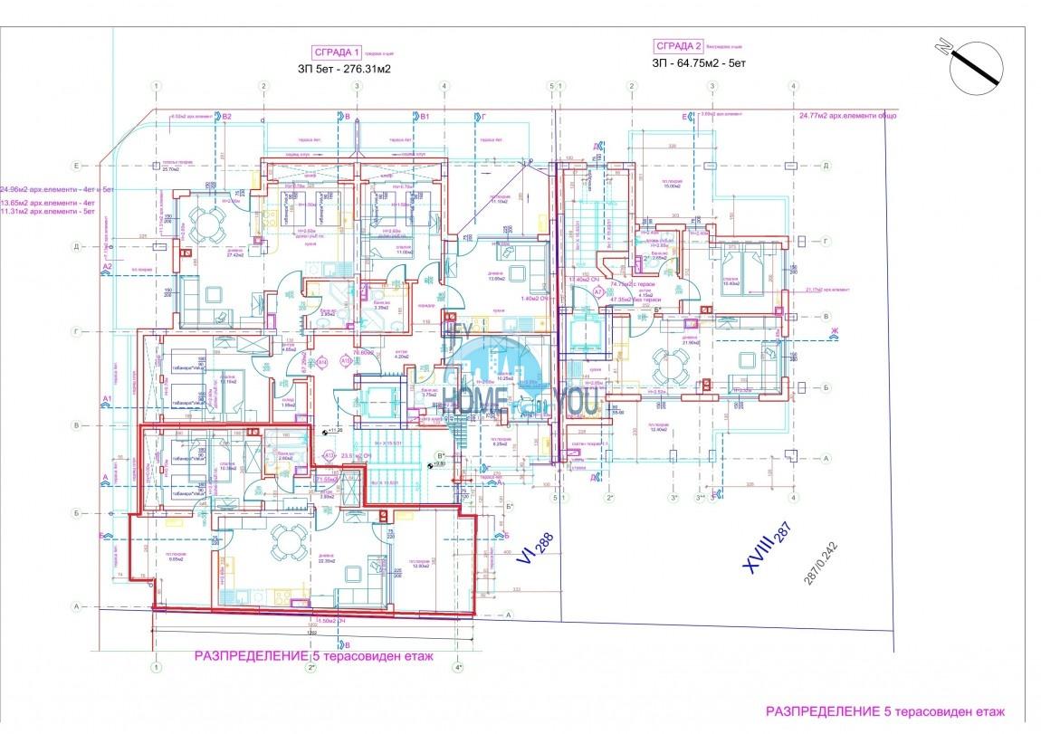 Современный жилой комплекс в новом престижном квартале Сарафово, город Бургас 8