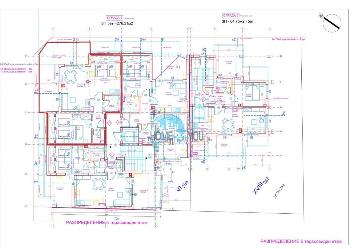Современный жилой комплекс в новом престижном квартале Сарафово, город Бургас 9