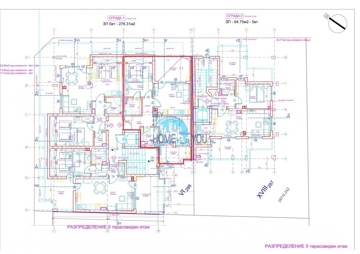Современный жилой комплекс в новом престижном квартале Сарафово, город Бургас 10