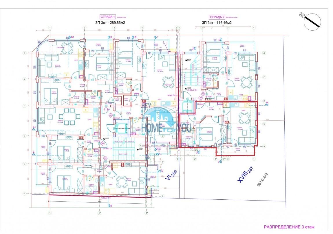 Современный жилой комплекс в новом престижном квартале Сарафово, город Бургас 12