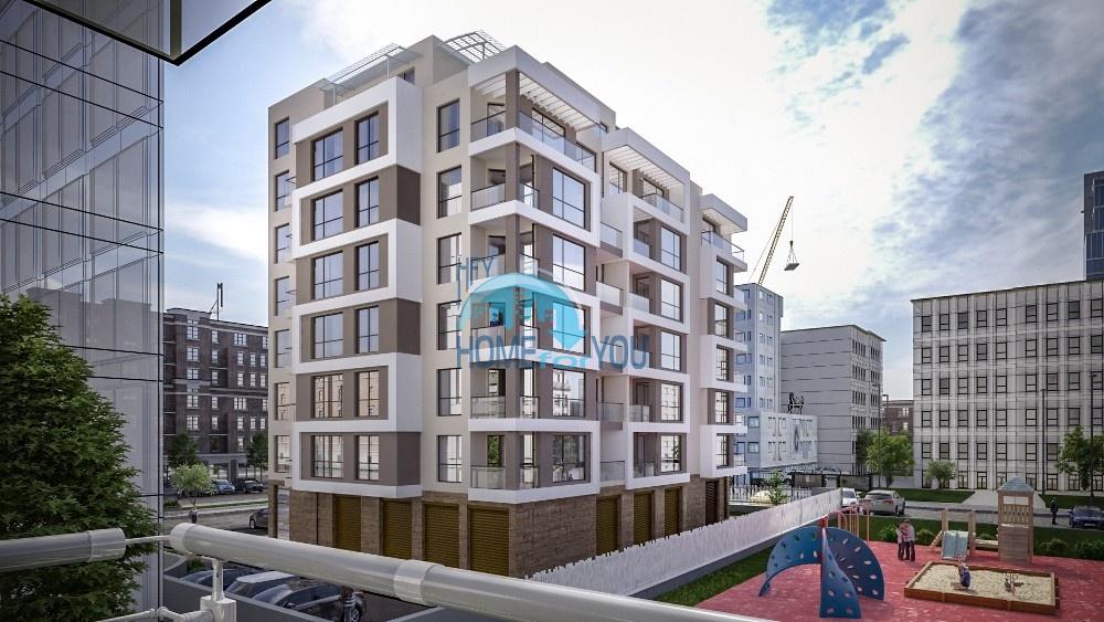 Новые квартиры для ПМЖ в городе Бургас квартал Славейков
