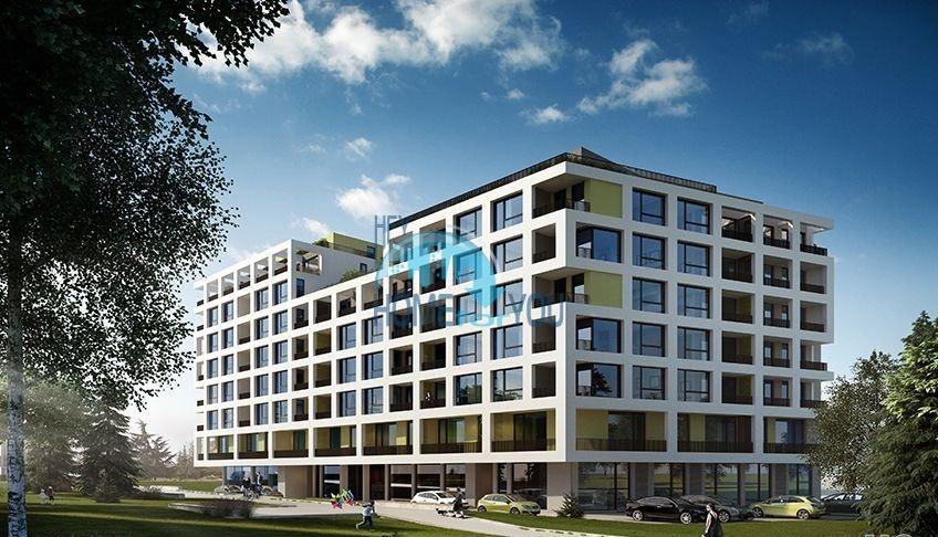 Новая трехкомнатная квартира для постоянного проживания в городе Бургас