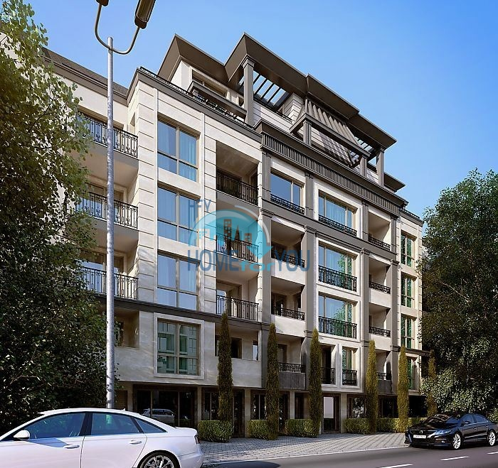 Новая трехкомнатная квартира в Бургасе, ул. Перущица