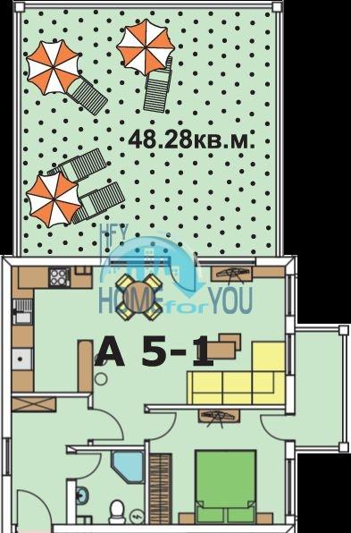 Квартира с видом на море в Бяле 10