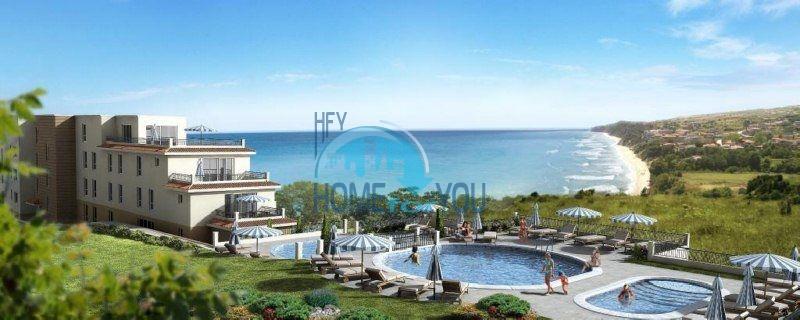 Двухкомнатная квартира с видом на море в городе Бяла - первая линия 2