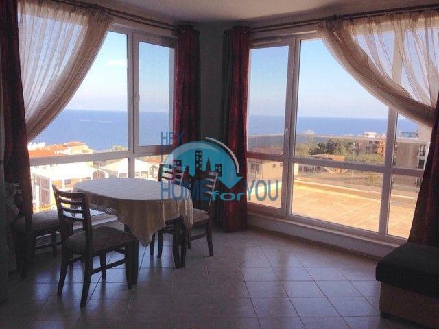 Панорамная квартира у моря в курортном городке Бяла