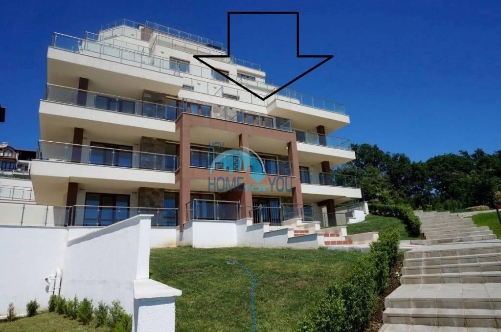Трехкомнатная квартира с уникальной морской панорамой в городе Бяла 24