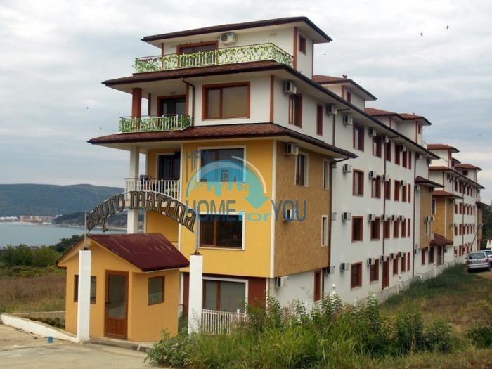 Уютные апартаменты с прекрасным видом на море в курорте Бяла - комплекс Aspro Marina