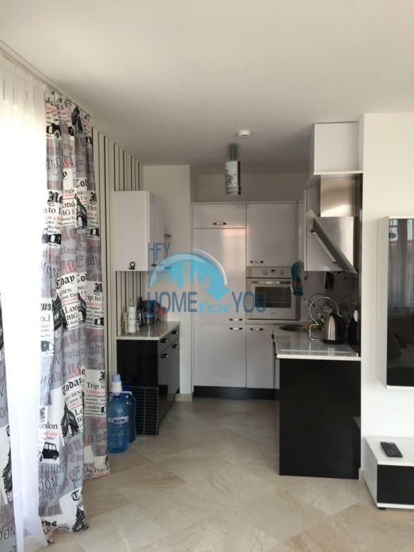 Элитная двухкомнатная квартира с видом на море в г.Черноморец 18