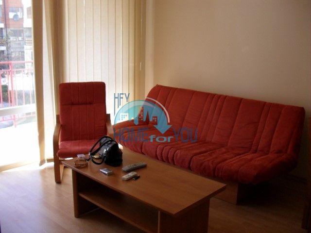 Двухкомнатная квартира на первой линии моря в курорте Елените 6