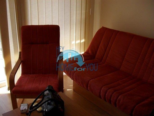 Двухкомнатная квартира на первой линии моря в курорте Елените 7