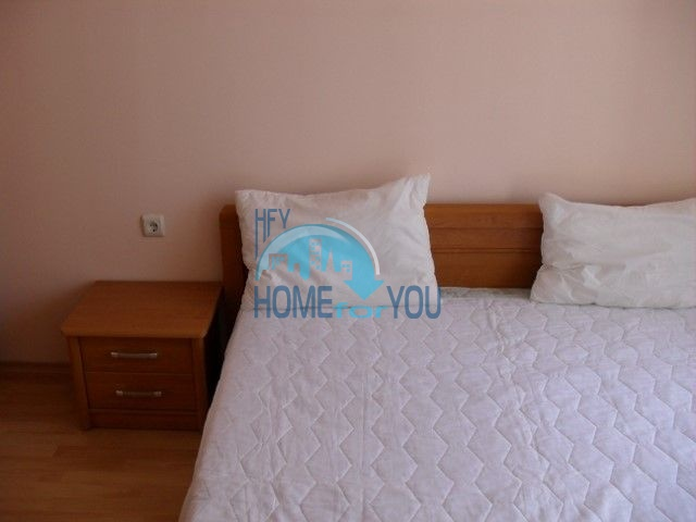 Двухкомнатная квартира на первой линии моря в курорте Елените 15