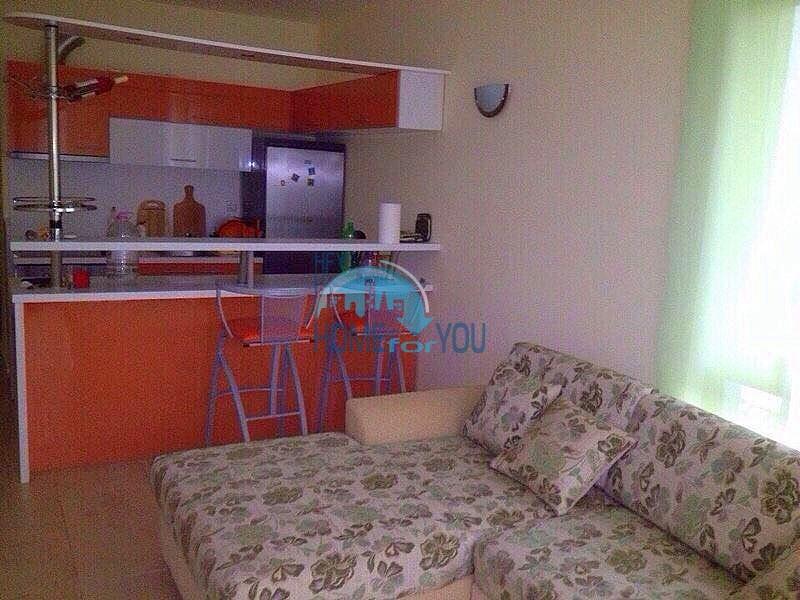 Мебльована двокімнатна квартира в затишному і спокійному комплексі «Golden Eye», дачна зона Кошаріца5201