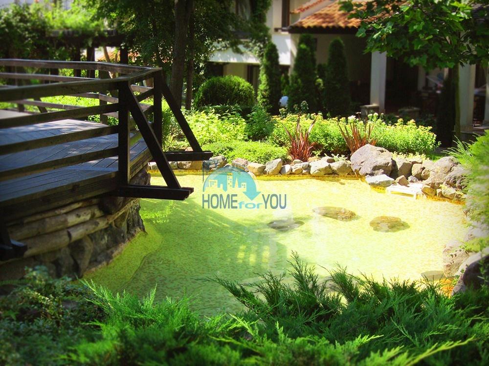 Светлая двухкомнатная квартира с прекрасным видом в роскошном комплексе Oasis Resort And Spa, Лозенец 20