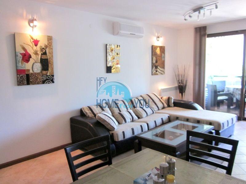 Меблированная квартира у моря в комплексе Оазис Резорт и Спа
