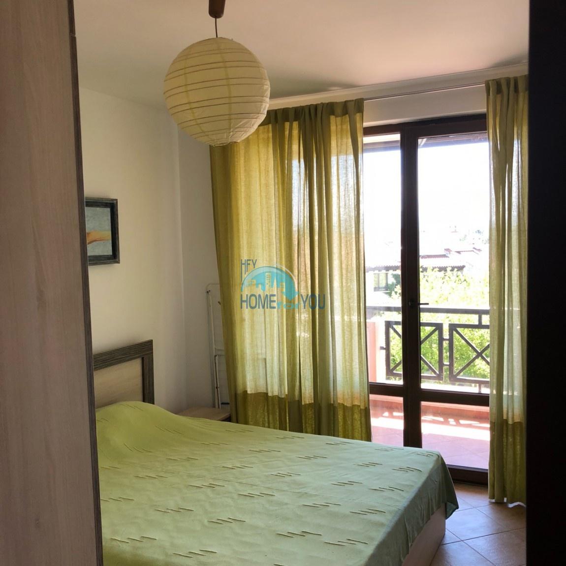 Меблированная квартира в комплексе Оазис, курорт Лозенец 12