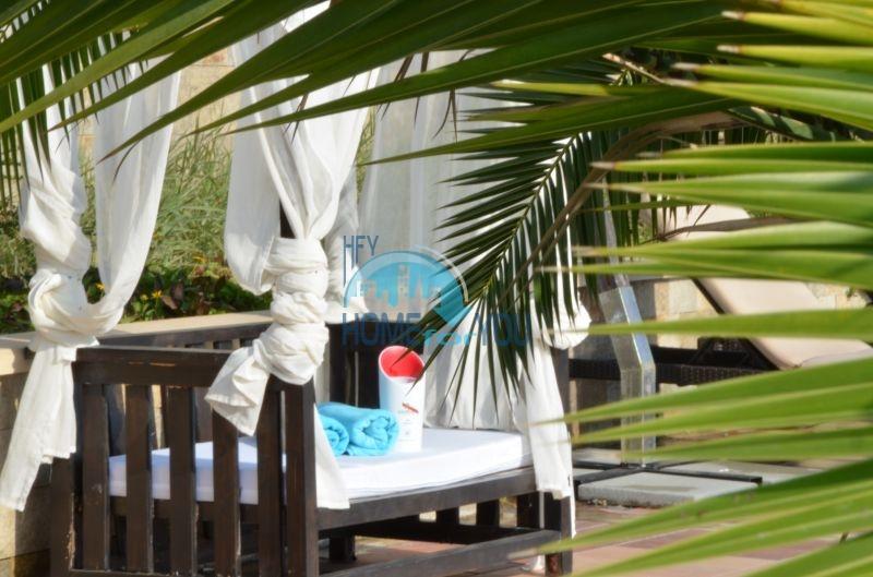 Меблированная квартира у моря в комплексе Оазис 19