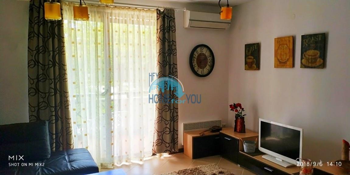 Прекрасная двухкомнатная квартира с видом на море и роскошные сады комплекса класса люкс Oasis Resort & Spa, Лозенец 27