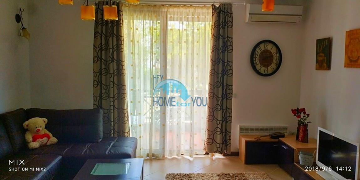 Прекрасная двухкомнатная квартира с видом на море и роскошные сады комплекса класса люкс Oasis Resort & Spa, Лозенец 29