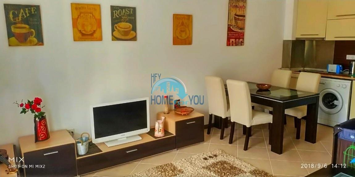 Прекрасная двухкомнатная квартира с видом на море и роскошные сады комплекса класса люкс Oasis Resort & Spa, Лозенец 30