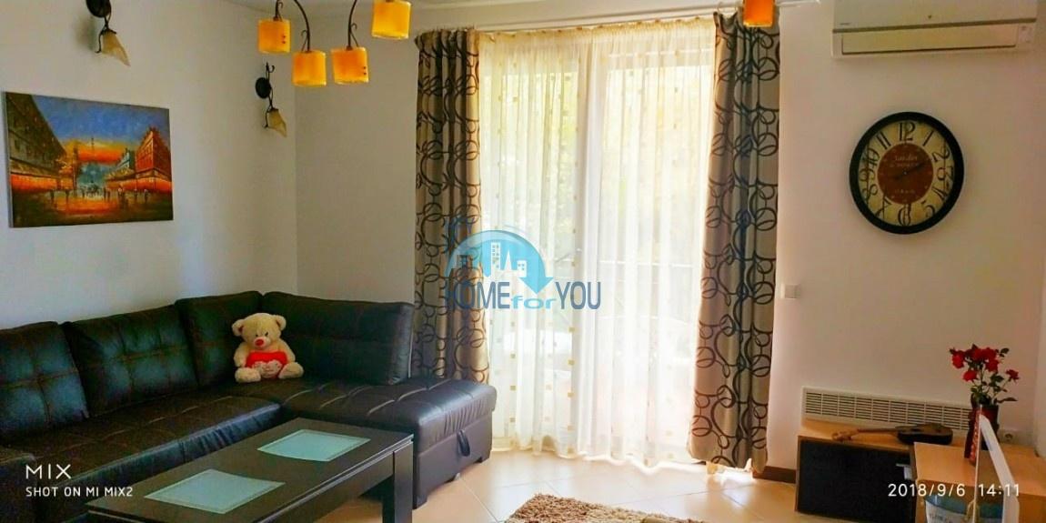 Прекрасная двухкомнатная квартира с видом на море и роскошные сады комплекса класса люкс Oasis Resort & Spa, Лозенец 32