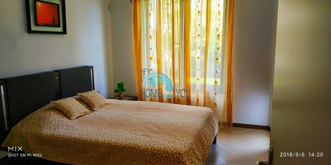 Прекрасная двухкомнатная квартира с видом на море и роскошные сады комплекса класса люкс Oasis Resort & Spa, Лозенец 33