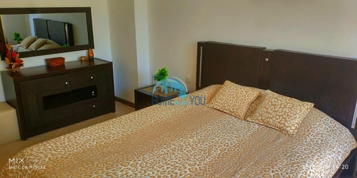 Прекрасная двухкомнатная квартира с видом на море и роскошные сады комплекса класса люкс Oasis Resort & Spa, Лозенец 34