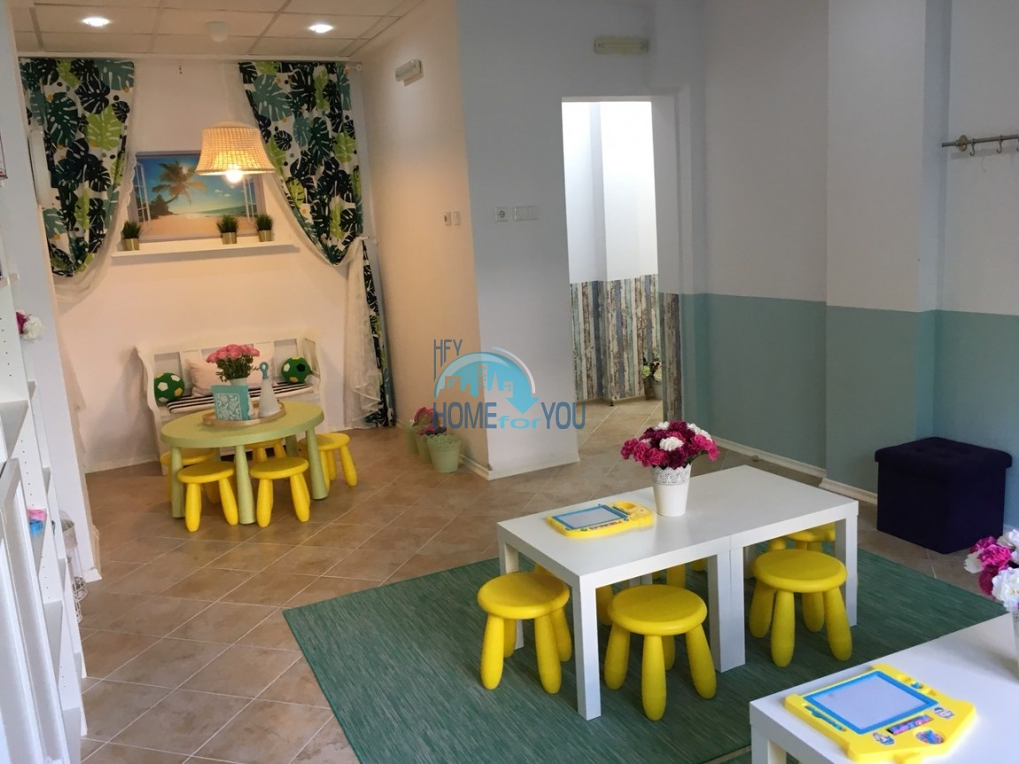 Прекрасная двухкомнатная квартира с видом на море и роскошные сады комплекса класса люкс Oasis Resort & Spa, Лозенец 35