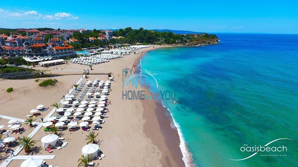 Прекрасный двухкомнатный апартамент на первой линии моря по выгодной цене в элитном комплексе Oasis Resort And Spa 22