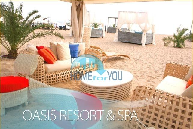 Прекрасный двухкомнатный апартамент на первой линии моря по выгодной цене в элитном комплексе Oasis Resort And Spa 25