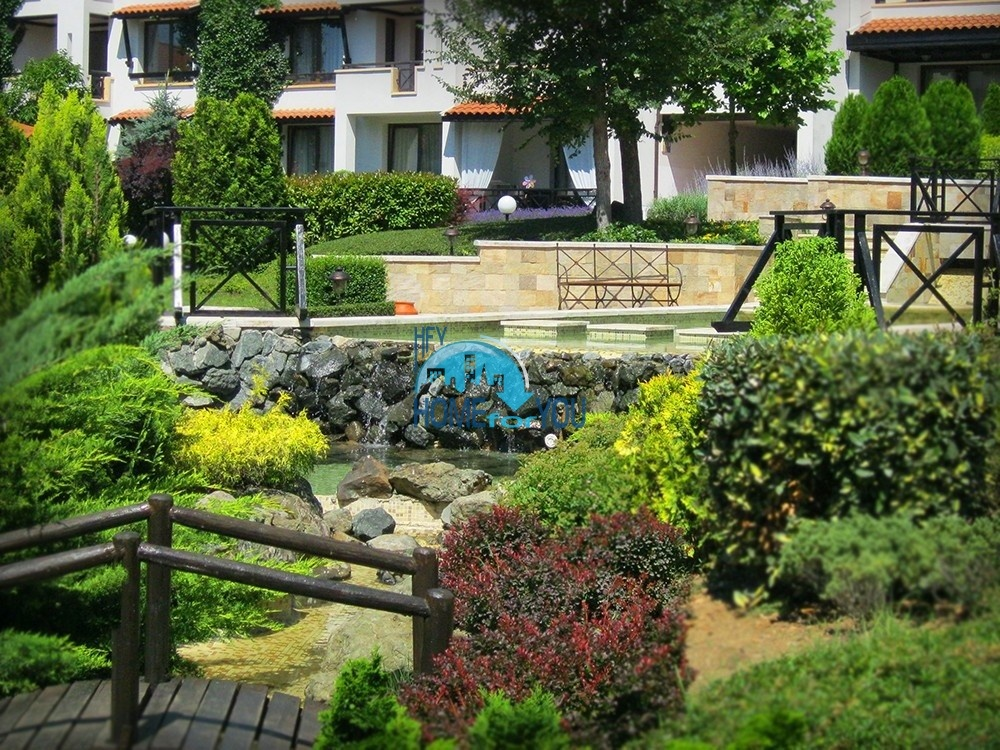 Прекрасный двухкомнатный апартамент на первой линии моря по выгодной цене в элитном комплексе Oasis Resort And Spa 37