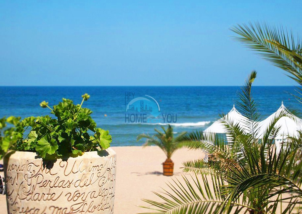 Продается двухкомнатная квартира с видом на море в Оазис Резорт и Спа, Лозенец 22