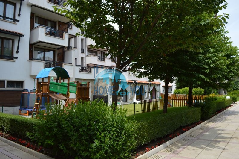 Роскошный трехкомнатный апартамент с выходом в сад с террасы в элитном Оазис Резорт и Спа, Лозенец 27