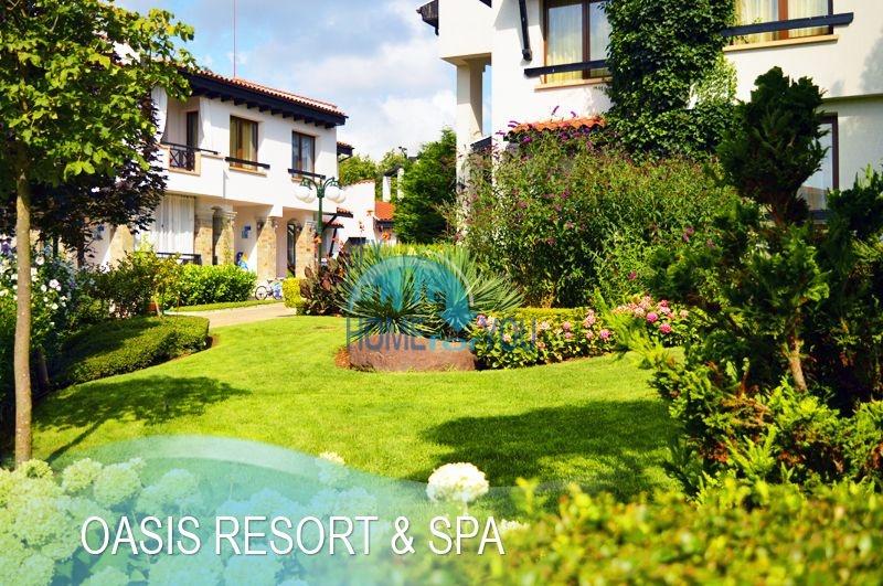 Меблированная светлая студия с частичным видом на море в элитном комплексе Oasis Resort & Spa, Лозенец 19