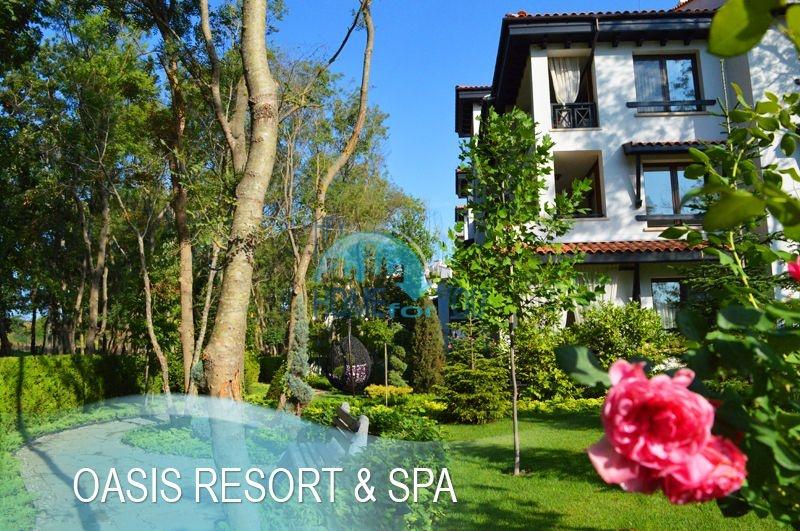 Меблированная светлая студия с частичным видом на море в элитном комплексе Oasis Resort & Spa, Лозенец 20