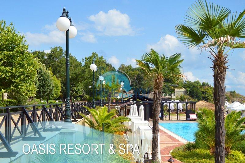 Меблированная светлая студия с частичным видом на море в элитном комплексе Oasis Resort & Spa, Лозенец 21