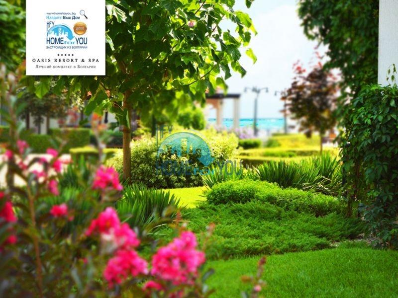 Меблированная светлая студия с частичным видом на море в элитном комплексе Oasis Resort & Spa, Лозенец 24