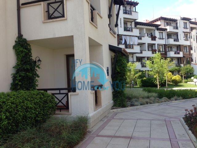 Элитная трехкомнатная квартира с прекрасным видом на море в шикарном Oasis Resort & Spa, Лозенец 11