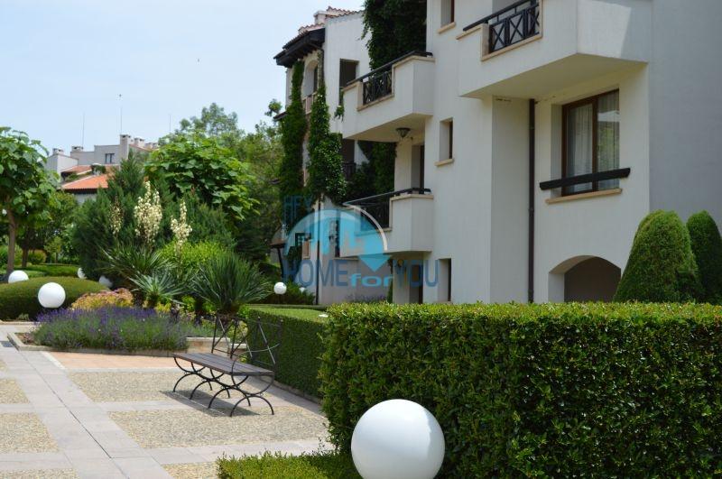 Элитная трехкомнатная квартира с прекрасным видом на море в шикарном Oasis Resort & Spa, Лозенец 13