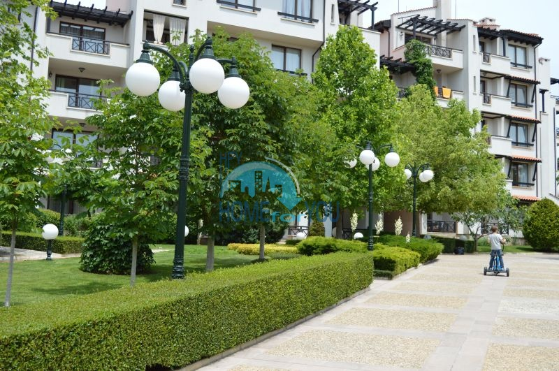 Элитная трехкомнатная квартира с прекрасным видом на море в шикарном Oasis Resort & Spa, Лозенец 14