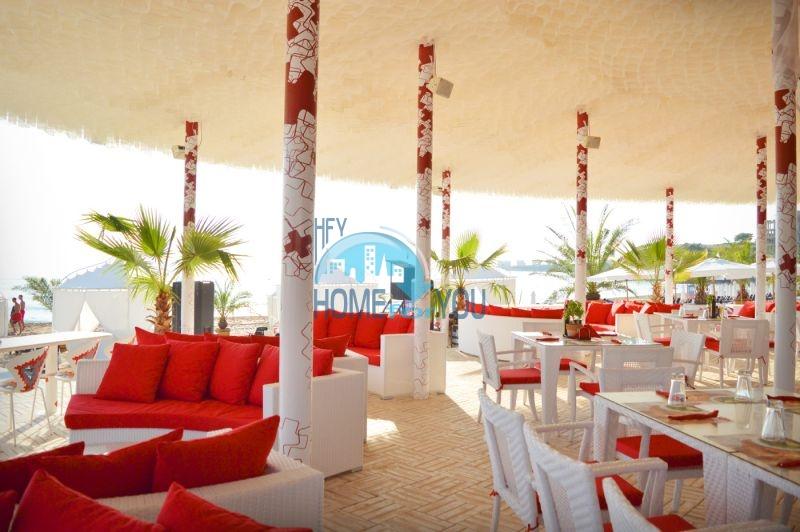 Элитная трехкомнатная квартира с прекрасным видом на море в шикарном Oasis Resort & Spa, Лозенец 19