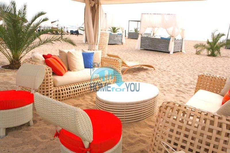 Элитная трехкомнатная квартира с прекрасным видом на море в шикарном Oasis Resort & Spa, Лозенец 26