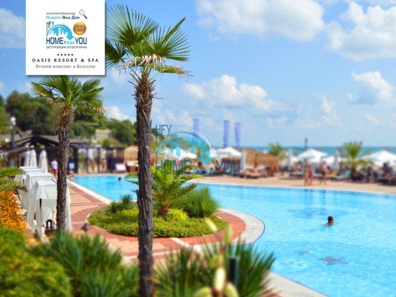 Элитная трехкомнатная квартира с прекрасным видом на море в шикарном Oasis Resort & Spa, Лозенец 27
