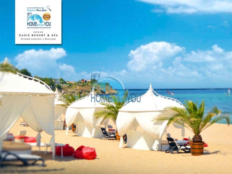 Элитная трехкомнатная квартира с прекрасным видом на море в шикарном Oasis Resort & Spa, Лозенец 28