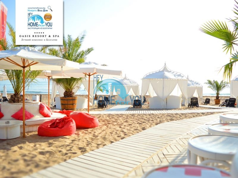 Элитная трехкомнатная квартира с прекрасным видом на море в шикарном Oasis Resort & Spa, Лозенец 29