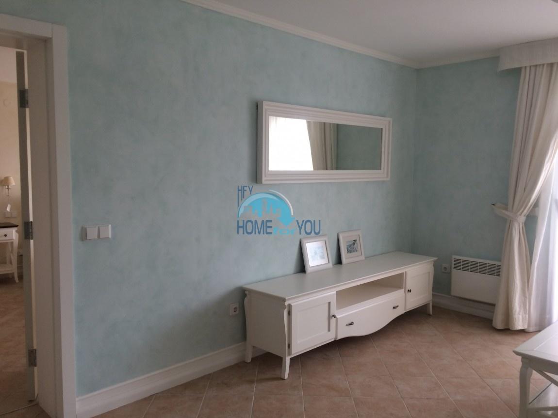 Меблированная трехкомнатная квартира на первой линии в Оазис Резорт & Спа, с.Лозенец 38
