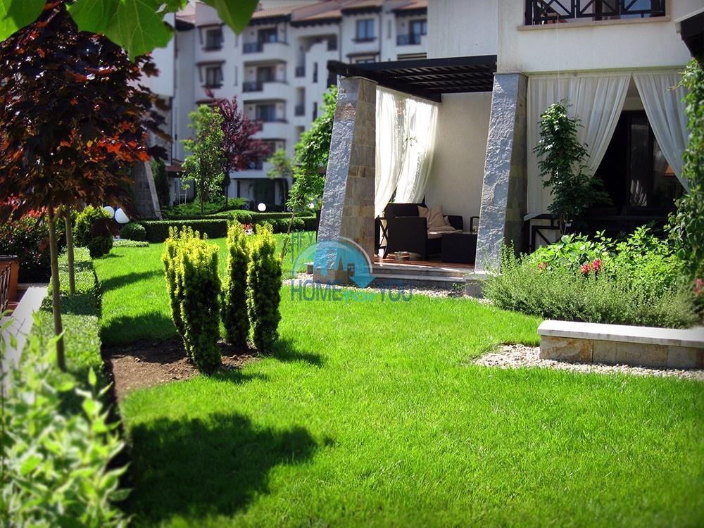 Шикарная трехкомнатная квартира в уникальном комплексе Oasis Resort & Spa на первой линии моря в п. Лозенец 7