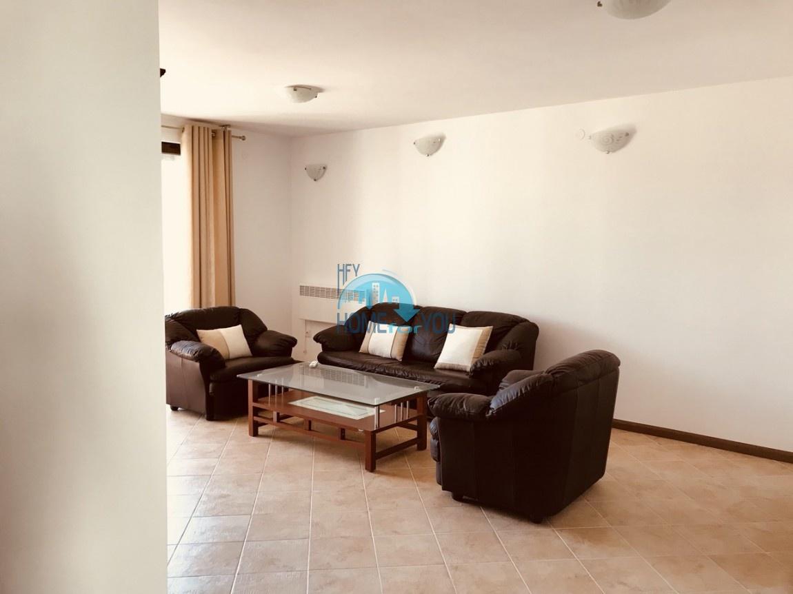 Шикарная трехкомнатная квартира в уникальном комплексе Oasis Resort & Spa на первой линии моря в п. Лозенец 28