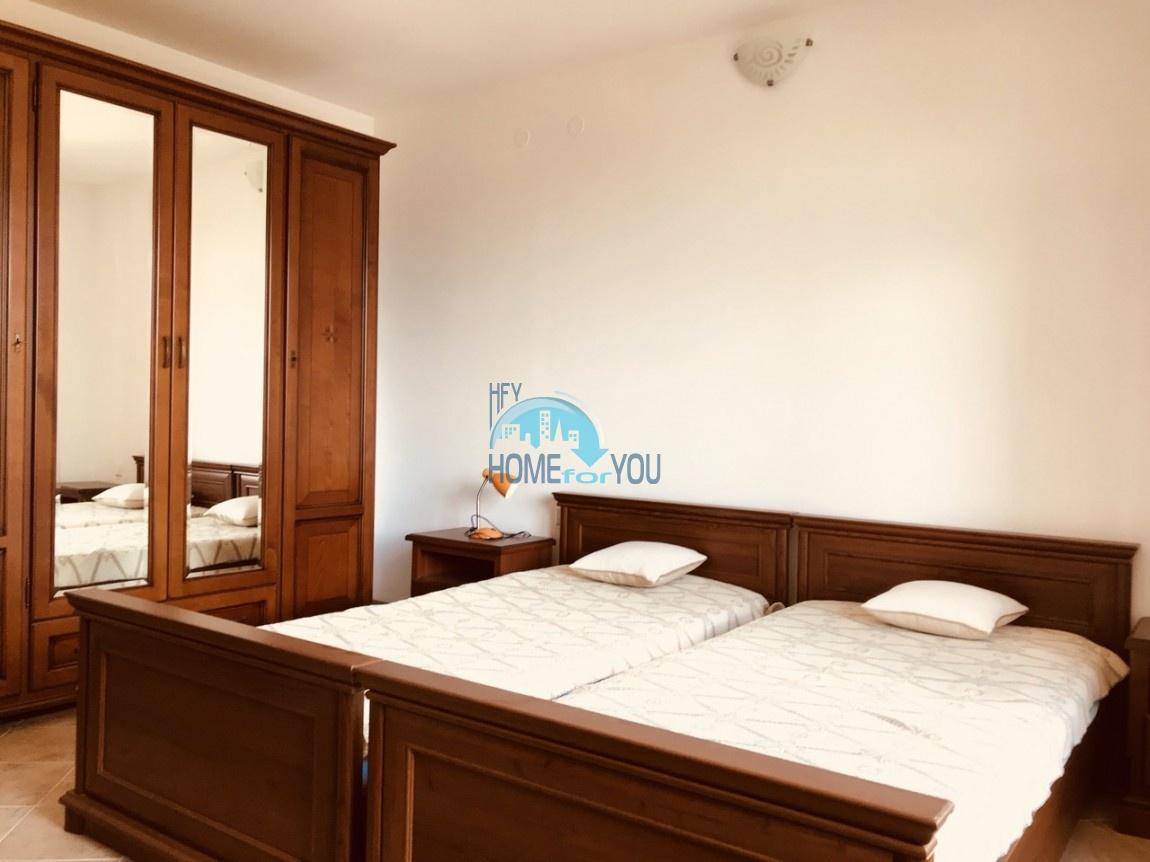 Шикарная трехкомнатная квартира в уникальном комплексе Oasis Resort & Spa на первой линии моря в п. Лозенец 38